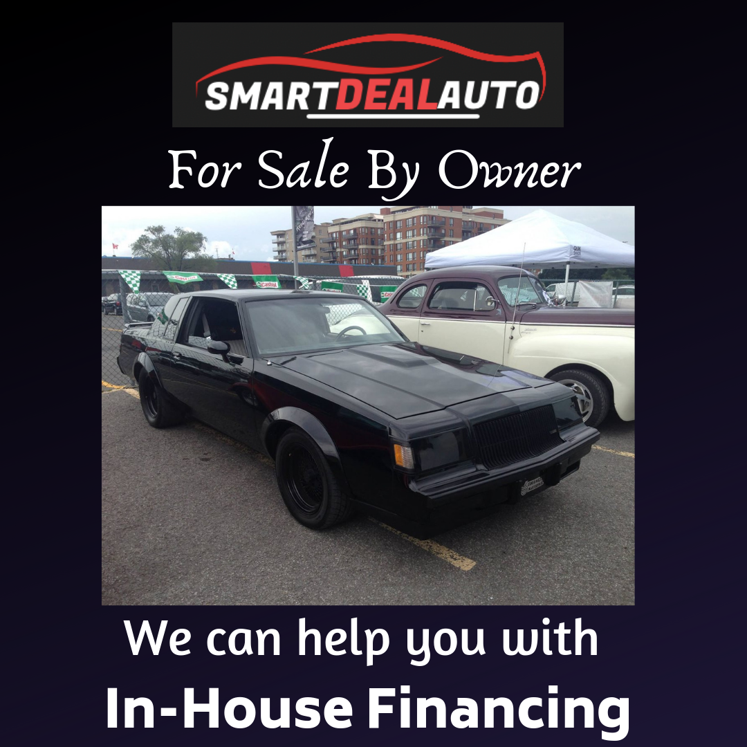 """1987 Buick Regal For Sale: 1987 BUICK REGAL """"GRAND NATIONAL"""""""