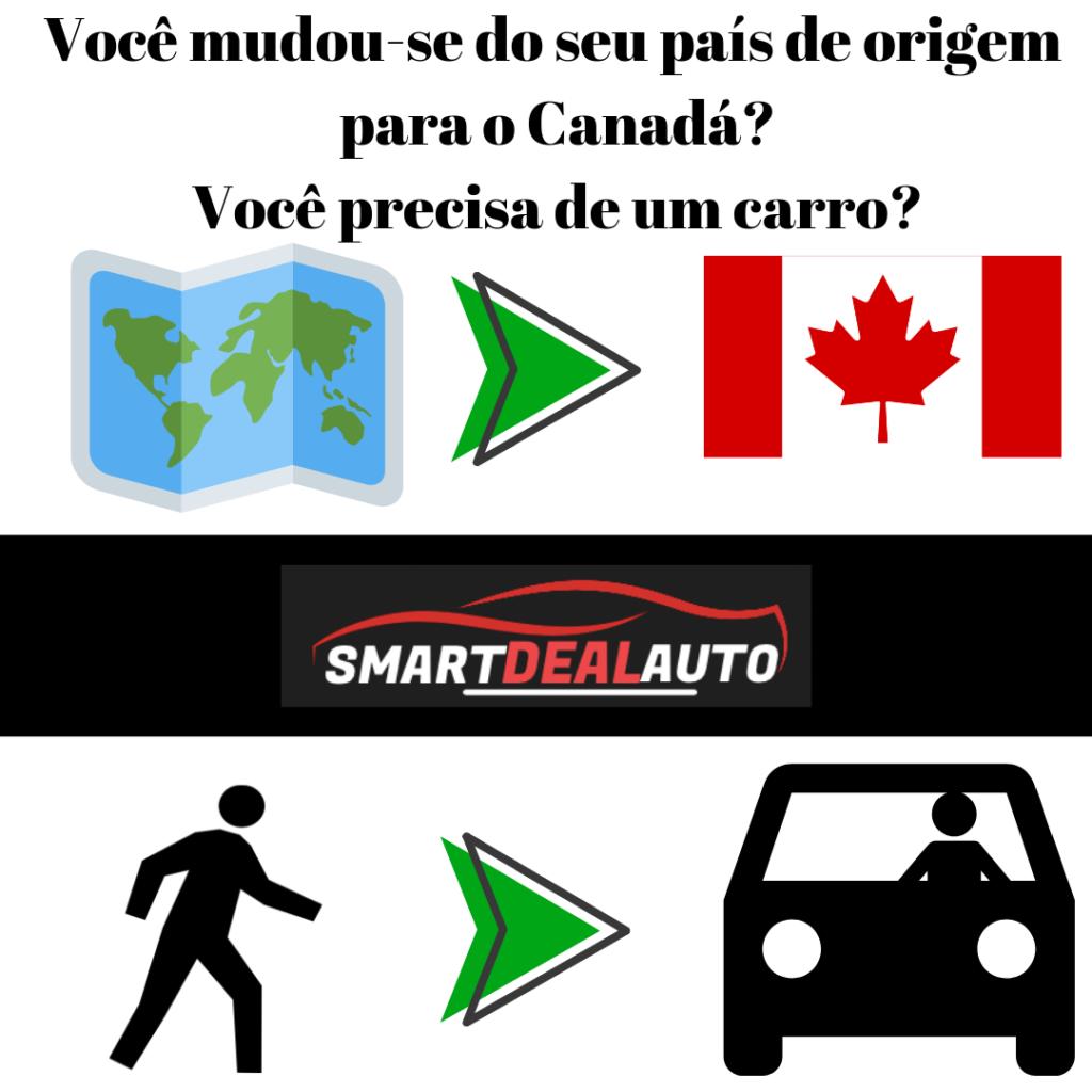 Você mudou-se do seu país de origem para o Canadá? Você precisa de um carro?